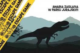 Kraków Atrakcja Escape room Awaria zasilania w Parku Jurajskim