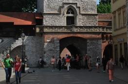 Kraków Atrakcja Warto zobaczyć Brama Floriańska