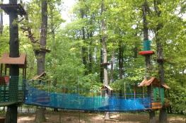 Atrakcja park linowy Rodzinny Park Linowy