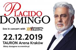 """Kraków Wydarzenie Koncert Placido Domingo """"Live in Concert"""""""