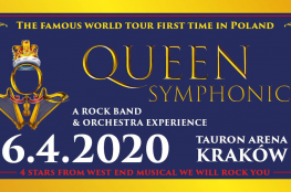 Kraków Wydarzenie Koncert QUEEN Symphonic