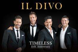 Kraków Wydarzenie Koncert IL DIVO – TIMELESS 15TH ANNIVERSARY
