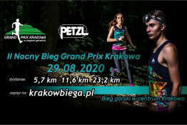 Kraków Wydarzenie Bieg II Nocny Bieg Grand Prix Krakowa
