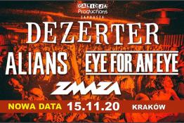 Kraków Wydarzenie Koncert Dezerter I Eye For An Eye