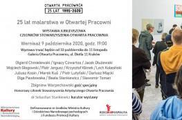Kraków Wydarzenie Wystawa 25 lat malarstwa w Otwartej Pracowni - wystawa