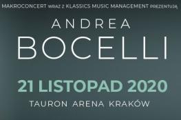 Kraków Wydarzenie Koncert ANDREA BOCELLI - Tauron Arena Kraków 2020